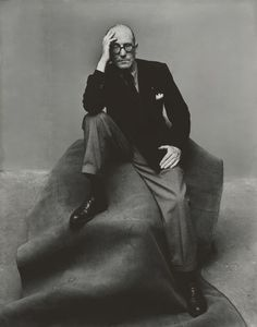 Le Corbusier. By Irving Penn.