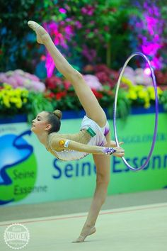 Dina Averina (Russia) Corbeil Essonnes 2015