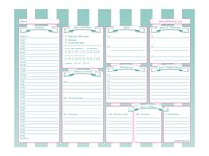Printable Time Management System for Busy Moms! #timemanagement