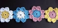 I want to learn to crochete daisies (well crochete altogether)