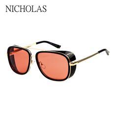 d1e3605564 Iron Man Sunglasses Men Women Brand Designer Goggles Female Ladies Sun  glasses For Men Women Eyewear