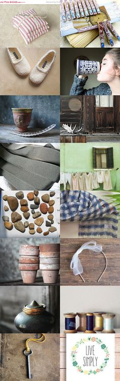 the simplest things bring a smile by Mina Lucinda on Etsy--Pinned with TreasuryPin.com