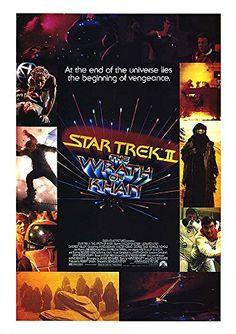Star Trek: The Wrath of Khan - Authentic Original 17 x 24 Movie Poster @ niftywarehouse.com