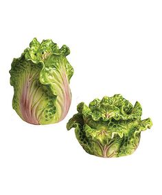 Loving this Cabbage Salt & Pepper Shakers on #zulily! #zulilyfinds