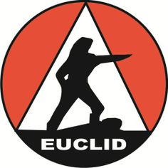 Euclid logo. My father was a Euclid mechanic in the 1950s and 60s