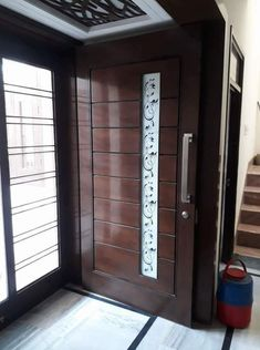 front door design collection for your home and .letest and beautiful front door design Single Main Door Designs, House Main Door Design, Flush Door Design, Wooden Front Door Design, Main Entrance Door Design, Bedroom Door Design, Wooden Front Doors, Entrance Foyer, Custom Interior Doors