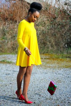 BLACKBEAUTYBAG: YELLOW & PINK PARADISE