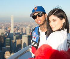 2/14/2017: Kylie Jenner & Tyga on Valentine's Day