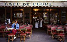 Paris cafes: Cafe de Flore