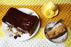 Floral Frosting: Fragrant Orange Cake with Dark Chocolate Ganache