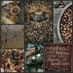 Autumn in brown. Inspiration board byJeetje♡