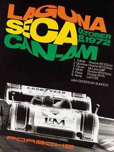 Porsche Racing Poster