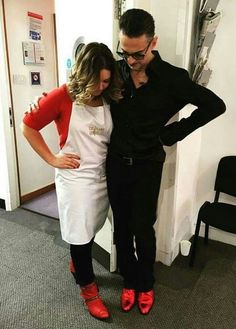 Dave Gahan Red boots