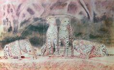 Cheetahs family by http://silver-iruka.deviantart.com