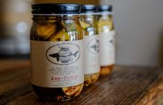 Brooklyn Brine's Hop- Pickles are beginning to appear in specialty stores and Whole Foods in New York City.  >  Going to make these!!!!