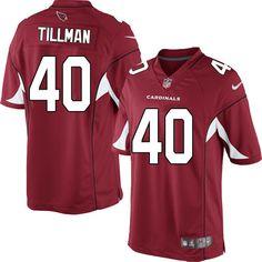 Nike Limited Pat Tillman Red Men's Jersey - Arizona Cardinals #40 NFL Home