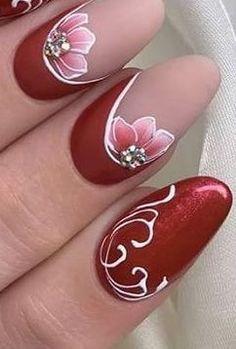 18 Nail Art Hacks Everyone Should Know Pink Nail Art, Flower Nail Art, Acrylic Nail Art, Gel Nail Art, Funky Nails, Glam Nails, Trendy Nails, Fingernail Designs, Cool Nail Designs