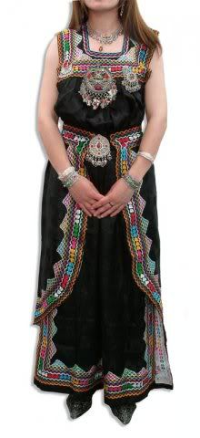 Algerian Berber dress