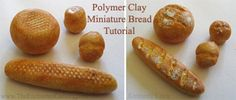 miniature food tutorial dolls house bread baguette step by step how-to guide