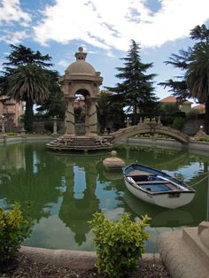 The pool of Grock, Imperia, Italy