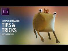 Character Animator Tips & Tricks (December 2016) - YouTube