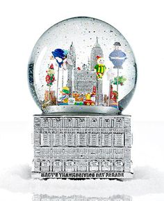 2012 Macy's Thanksgiving Day Parade Snow Globe - Holiday Lane - Macy's