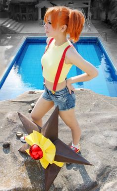 Misty & StarU Pokemon Cosplay