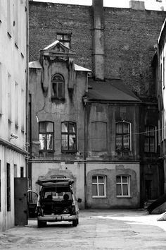 Old part of Lodz downtown, Poland