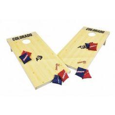 Colorado Buffaloes Tailgate Toss XL Edition Cornhole Board & Bean Bag Set