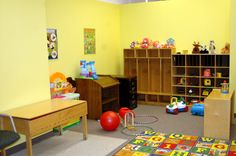 One day I will have my own daycare center! I luv this set up.