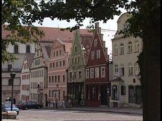 The city of Neuburg an dear Donau, Germany