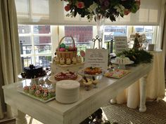 Sweet treats at our Easter Brunch at the Hay-Adams hotel, Washington, D.C.