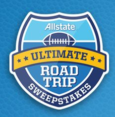 Allstate Ultimate Road Trip Sweepstakes & IWG - Win a Buick Enclave & trips to football games! - ends 11/30/13