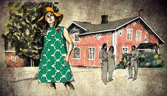 Anne Kimiläinen, Illustration for TV, Yle, 2017, Menneisyyden metsästäjät