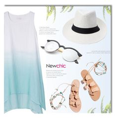 NEWCHIC.com by monmondefou on Polyvore featuring polyvore fashion style Ancient Greek Sandals clothing