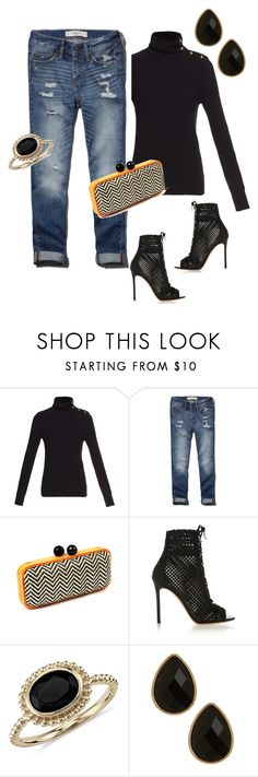 """""""Girls Night"""" by ccoss on Polyvore featuring Chloé, Abercrombie & Fitch, Amrita Singh, Gianvito Rossi, Blue Nile and Natasha"""