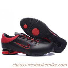 reputable site 879a0 c72d3 Nouveau Nike Shox R2 Hommes Noir   Rouge