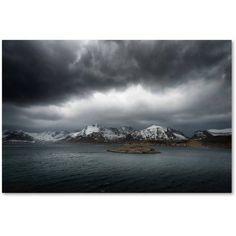 Trademark Fine Art Grey Canvas Art by Philippe Sainte-Laudy, Size: 12 x 19, White