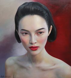 2015 (series) NATURE CHAIN (or MAO vs. THE BEAUTY MITH) -- Ling Jian Lu (凌健; b1963, Shan Dong Province)