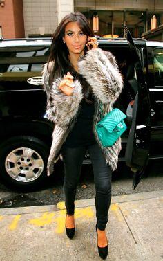 <3 Kim Kardashians fashion!