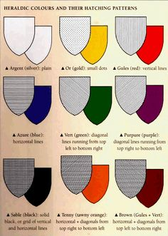 Heraldry Colors   Color of the Shield & Meaning