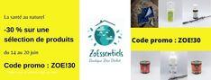 """Profitez du déstockage chez Zoessentiels pour vous équiper en spray anti-tique, en compléments alimentaires comme la vitamine D, en solution hydroalcoolique, en huiles essentielles et autres produits qui vous veulent du bien. Important : l'offre est valable du 14 au 20 juin seulement et surtout dans la limite des stocks disponibles. Pour en profiter, indiquez le code promo """"ZOE!30"""" avant de valider votre commande. Attention : offre valable dans la limite des stocks disponibles. Blog Bio, Sante Plus, Code Promo, White Out, Boutiques, Diet Supplements, Health Products, Insomnia, Natural Remedies"""
