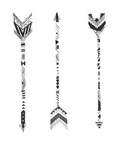 Hand Drawn Arrows by WillowandGrey on Etsy