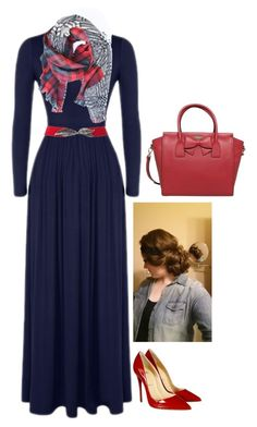 """""""Apostolic Fashion #97"""" by carleemarlee35 ❤ liked on Polyvore featuring Christian Louboutin and Kate Spade"""
