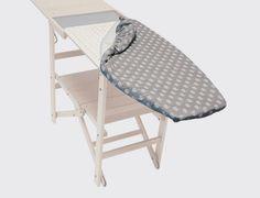 Funda tabla de planchar laCopertina. laCopertina es una funda de algodón y polvo de aluminio, moldeada y preplanchada para los modelos de tabla de planchar Asso, Assai, loStiro y Snello.