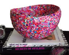 Confetti Bowl | Craft projects for every fan!