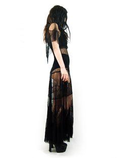 #Black #Dress #Sheer #Lace #MaxiDress #Editorial #Model #Platform #Style #Fashion #BiographyInspiration