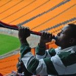 Make Your Own Vuvuzela - A stadium horn from South Africa.  Great activity for World Cup 2014 or to cheer on any sports team!