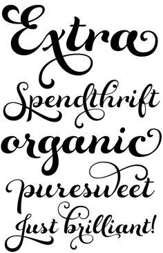 rosarian font sample - Google Search