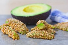 Avocado Fries with Sweet Chipotle Dip. A clean recipe that might make you forget all about french fries!